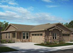 Plan 1498 - Terrain - Ranch Villa Collection: Castle Rock, Colorado - KB Home