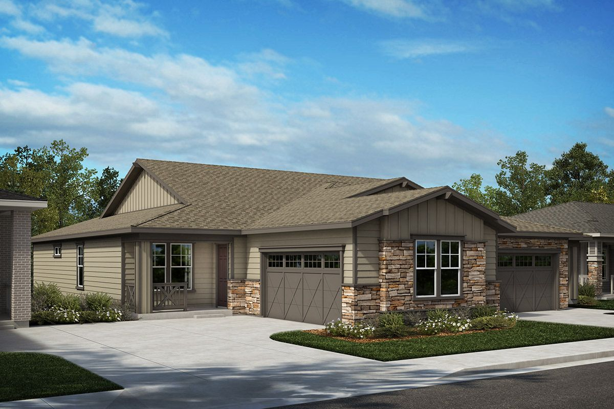 Exterior featured in the Plan 1780 Modeled By KB Home in Denver, CO