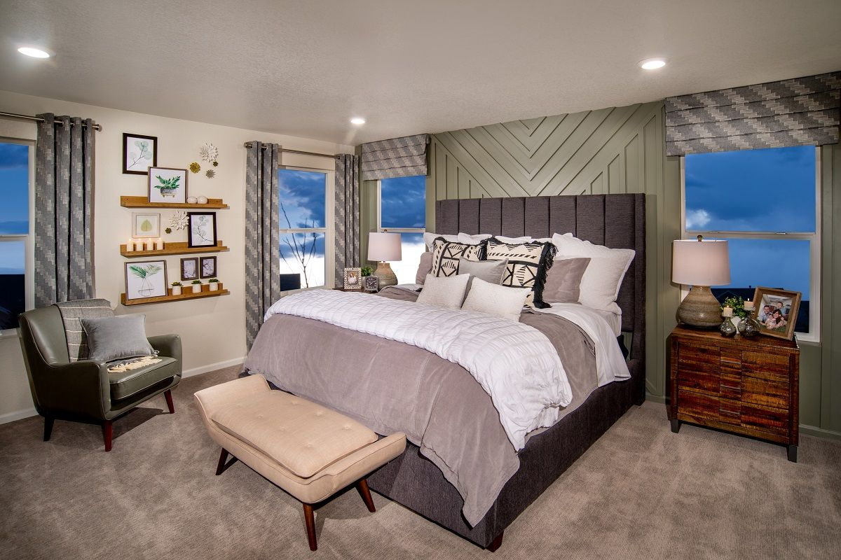 Bedroom featured in the Plan 1923 Modeled By KB Home in Fort Collins-Loveland, CO
