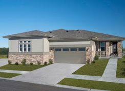 Plan 1738 Modeled - The Canyons - Ranch Villa Collection: Castle Pines, Colorado - KB Home