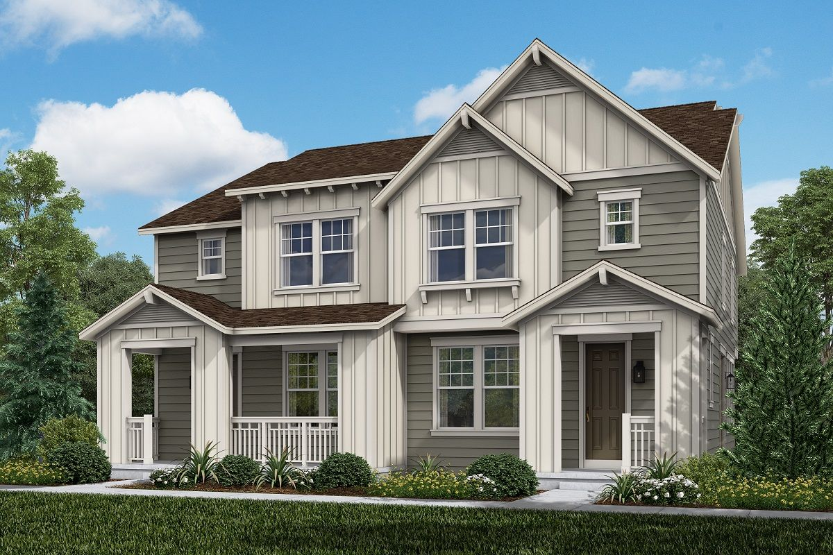 Exterior featured in the Plan 1754 Modeled By KB Home in Denver, CO
