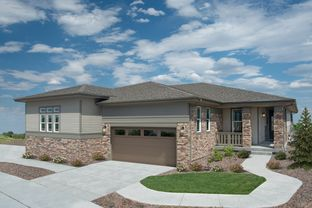 Plan 1498 Modeled - The Canyons - Ranch Villa Collection: Castle Pines, Colorado - KB Home