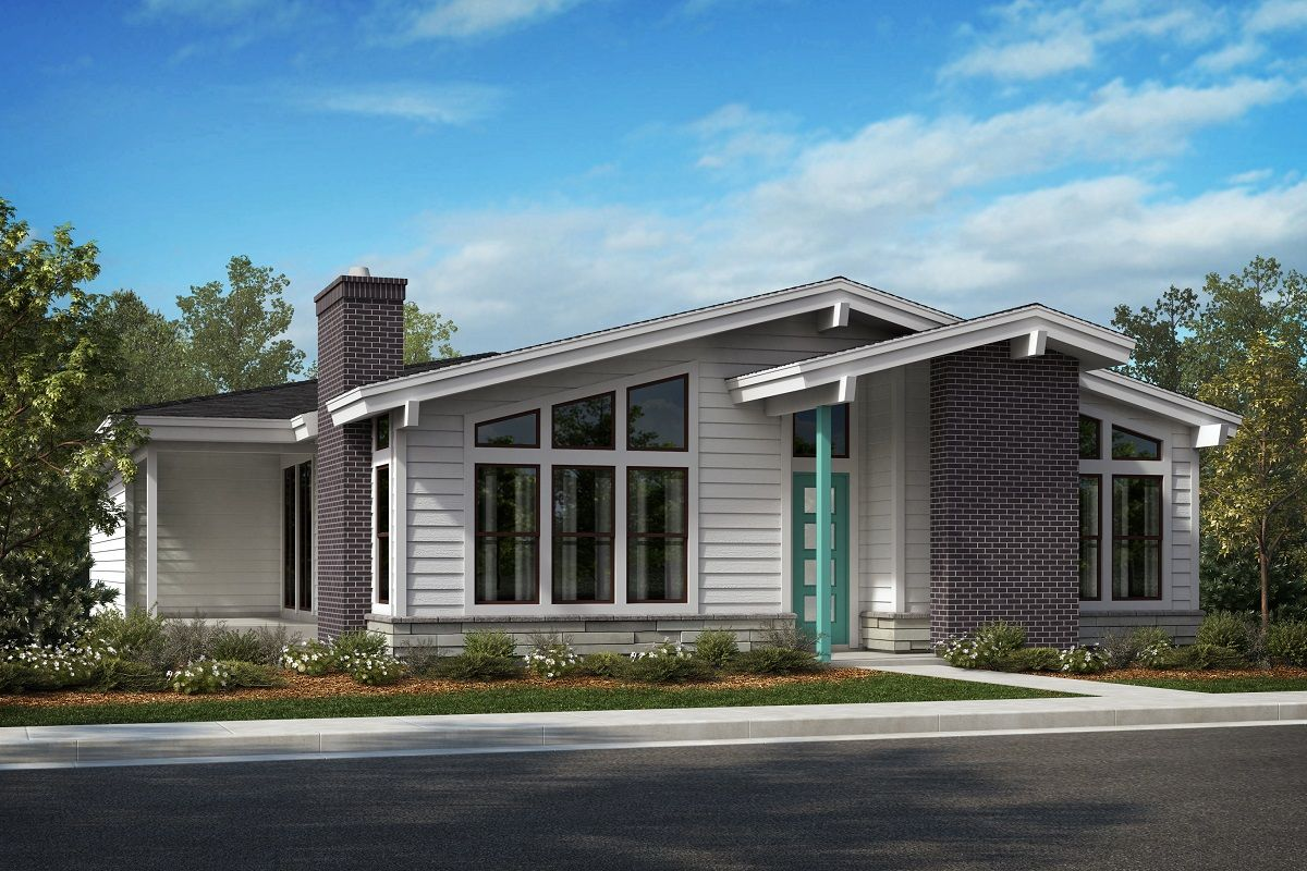 Exterior featured in the Plan 2617 By KB Home in Denver, CO