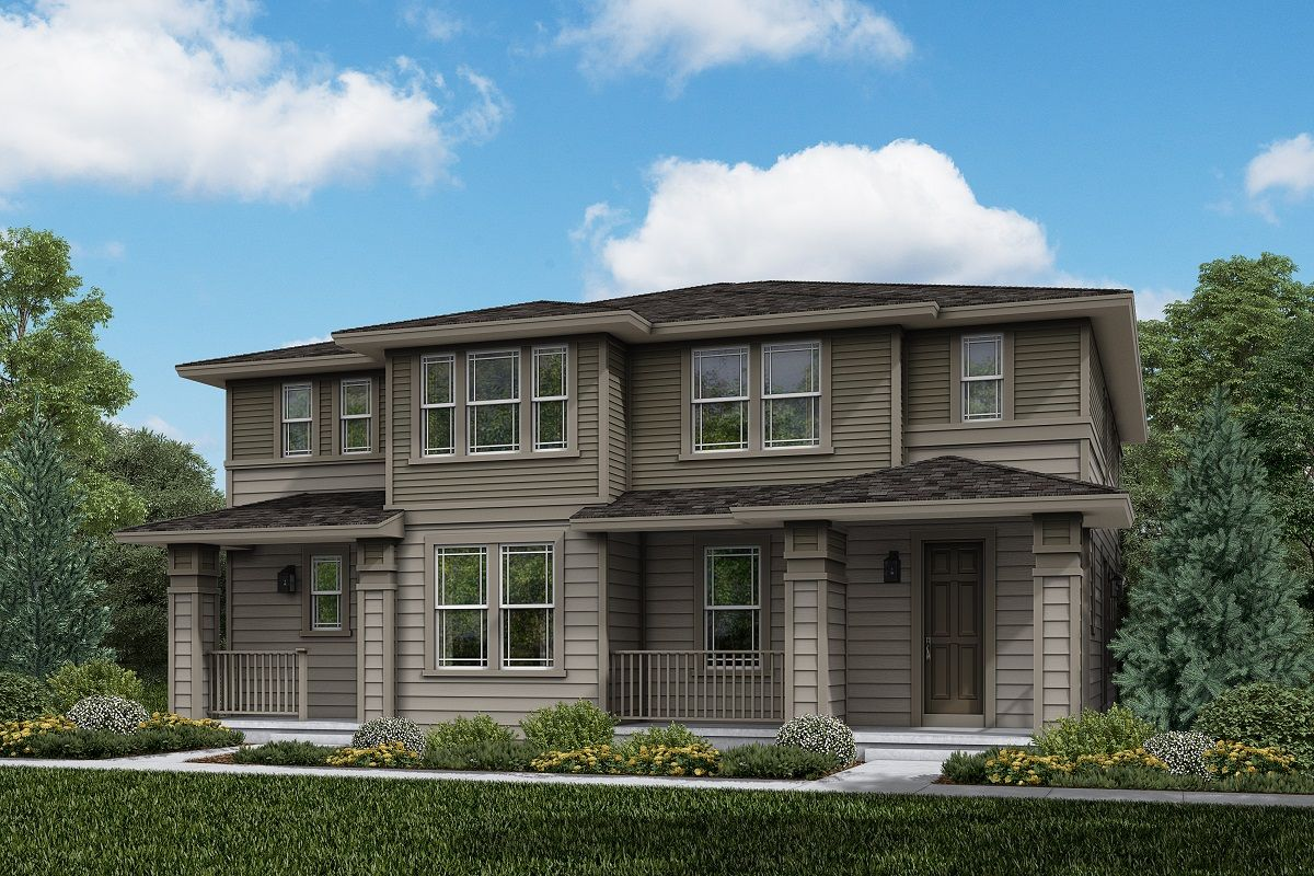 Exterior featured in the Plan 1754 Modeled By KB Home in Boulder-Longmont, CO