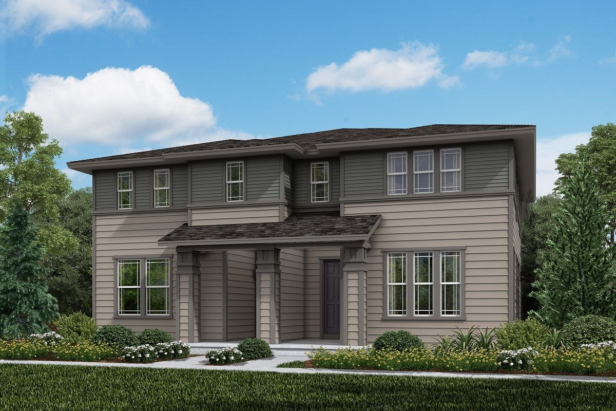 Exterior featured in the Plan 1934 Modeled By KB Home in Denver, CO