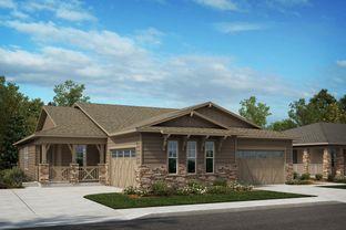 Plan 1738 - Terrain - Ranch Villa Collection: Castle Rock, Colorado - KB Home