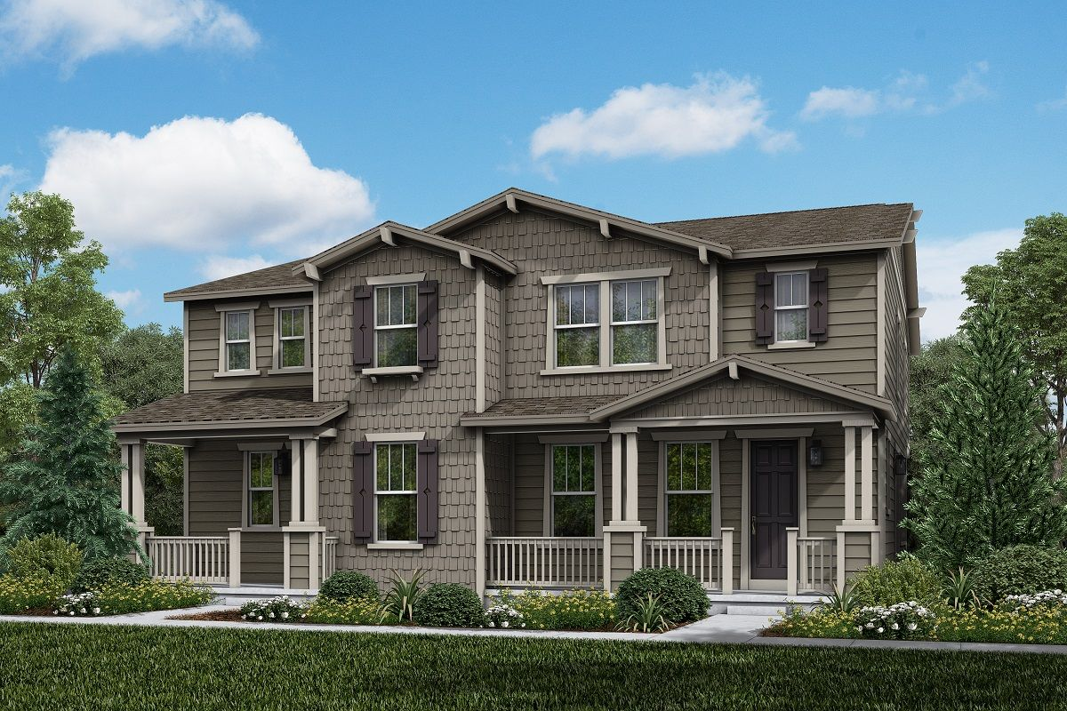 Exterior featured in the Plan 1885 By KB Home in Boulder-Longmont, CO