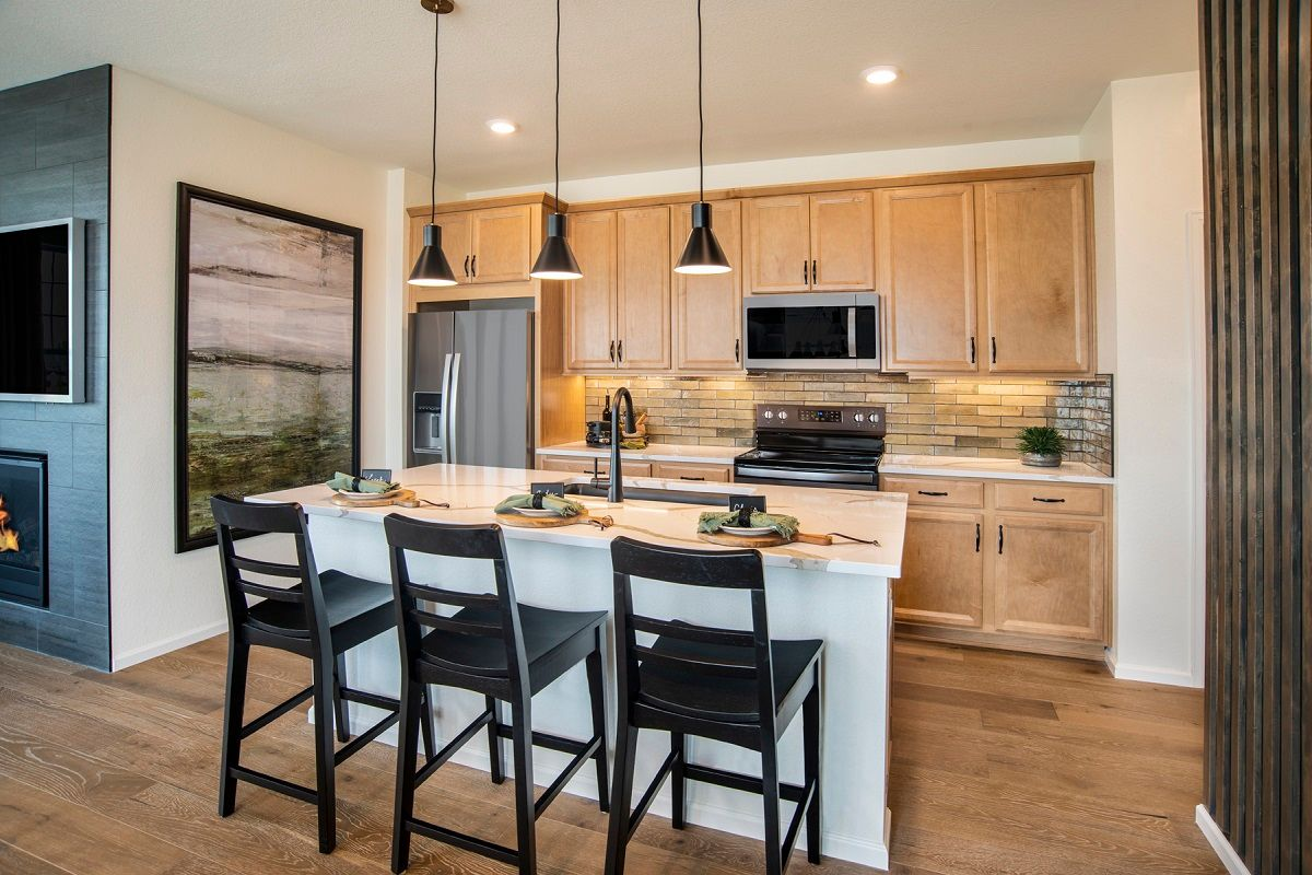 Kitchen featured in the Plan 1671 Modeled By KB Home in Boulder-Longmont, CO