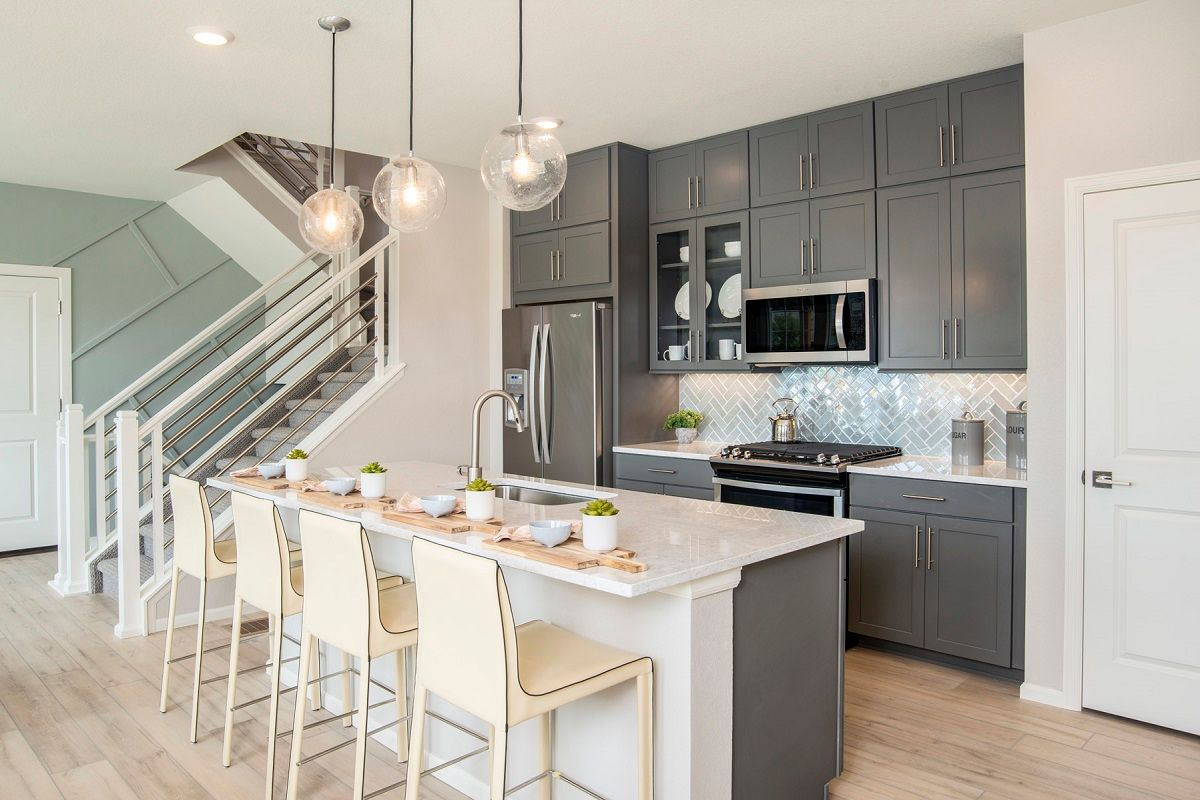 Kitchen featured in the Plan 1754 Modeled By KB Home in Boulder-Longmont, CO