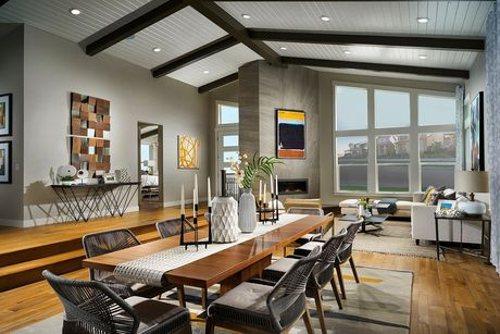 Greatroom-and-Dining-in-Eclipse 2483 Modeled-at-Stapleton Starlight Collection-in-Denver
