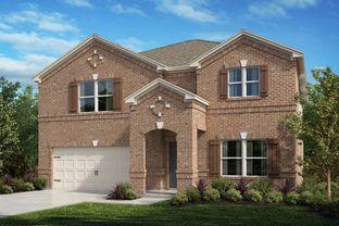 Plan 2803 - Winn Ridge: Aubrey, Texas - KB Home