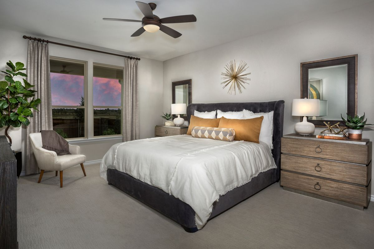Bedroom featured in the Plan 2085 Modeled By KB Home in Fort Worth, TX