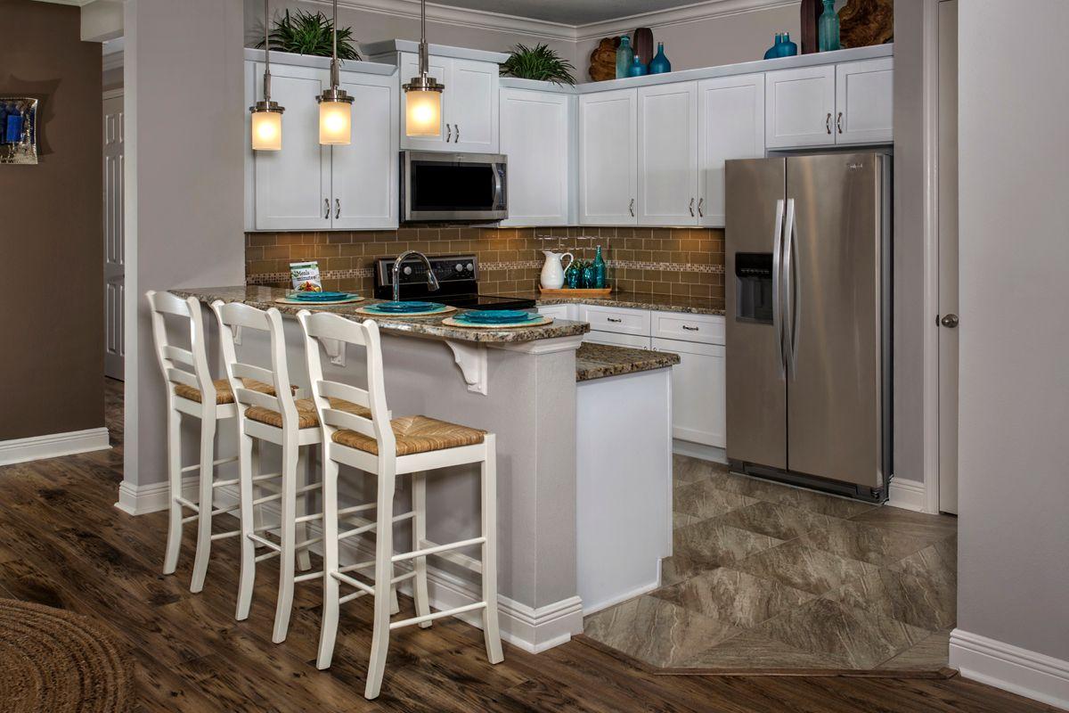 Kitchen-in-Plan 1523 Modeled-at-Tuscany Isles-in-Punta Gorda