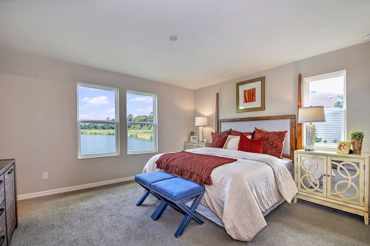 Bedroom featured in the Plan 1502 Modeled By KB Home in Fort Myers, FL