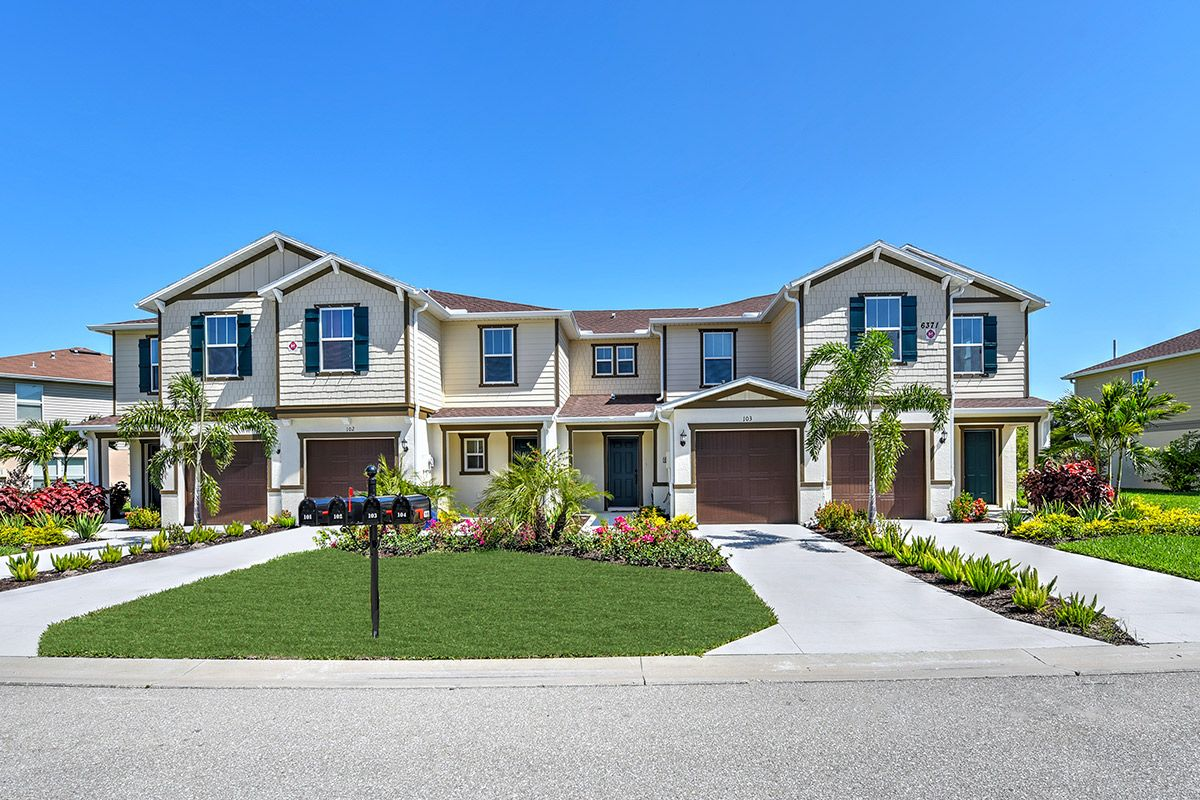 Exterior featured in the Plan 1286 Modeled By KB Home in Fort Myers, FL