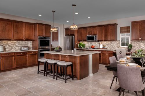 Kitchen-in-Residence 3292 Modeled-at-Arroyo Vista at the Woodlands-in-Simi Valley