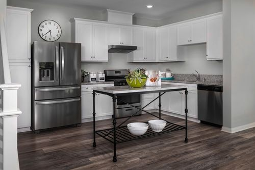 Kitchen-in-Residence One Modeled-at-Mariposa at Springville-in-Camarillo