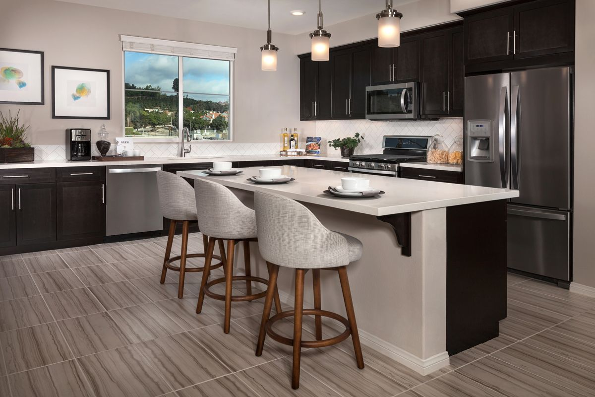 Kitchen-in-Residence Two Modeled-at-Mariposa at Springville-in-Camarillo