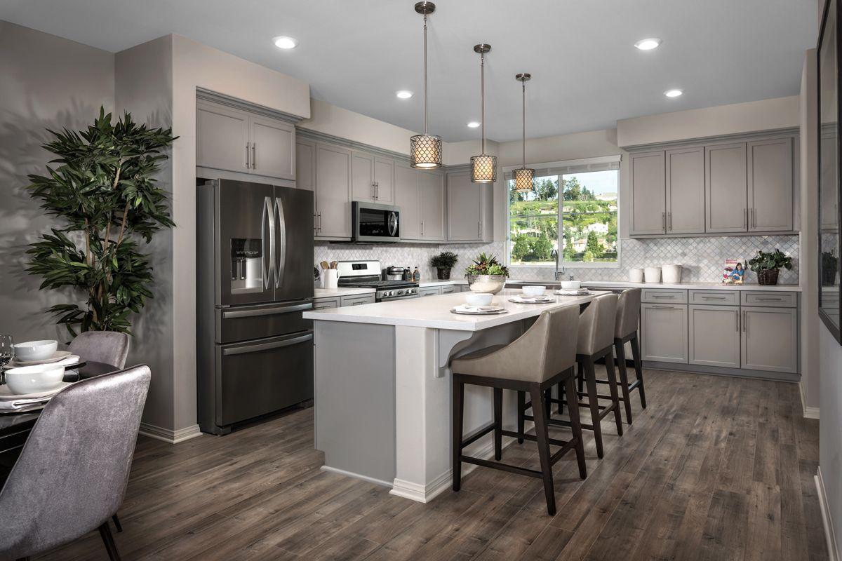 Kitchen-in-Residence Three Modeled-at-Mariposa at Springville-in-Camarillo