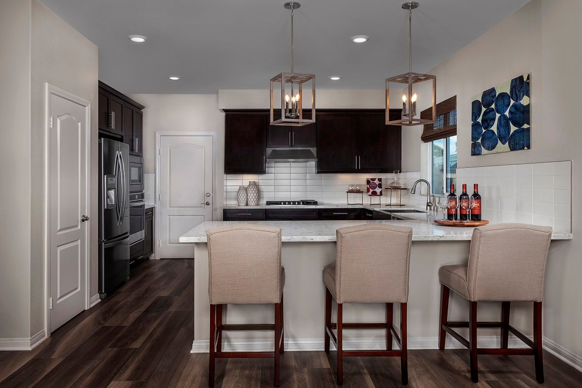 Kitchen-in-Residence 3 Modeled-at-Sagecrest-in-Lake View Terrace