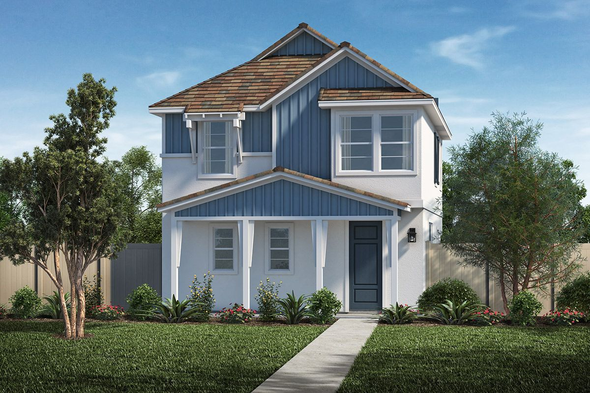 Exterior featured in the Plan 1690 Modeled By KB Home in Los Angeles, CA