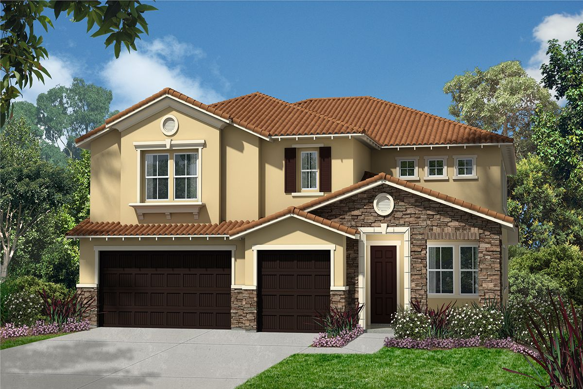 Exterior featured in the Plan 3947 By KB Home in Ventura, CA