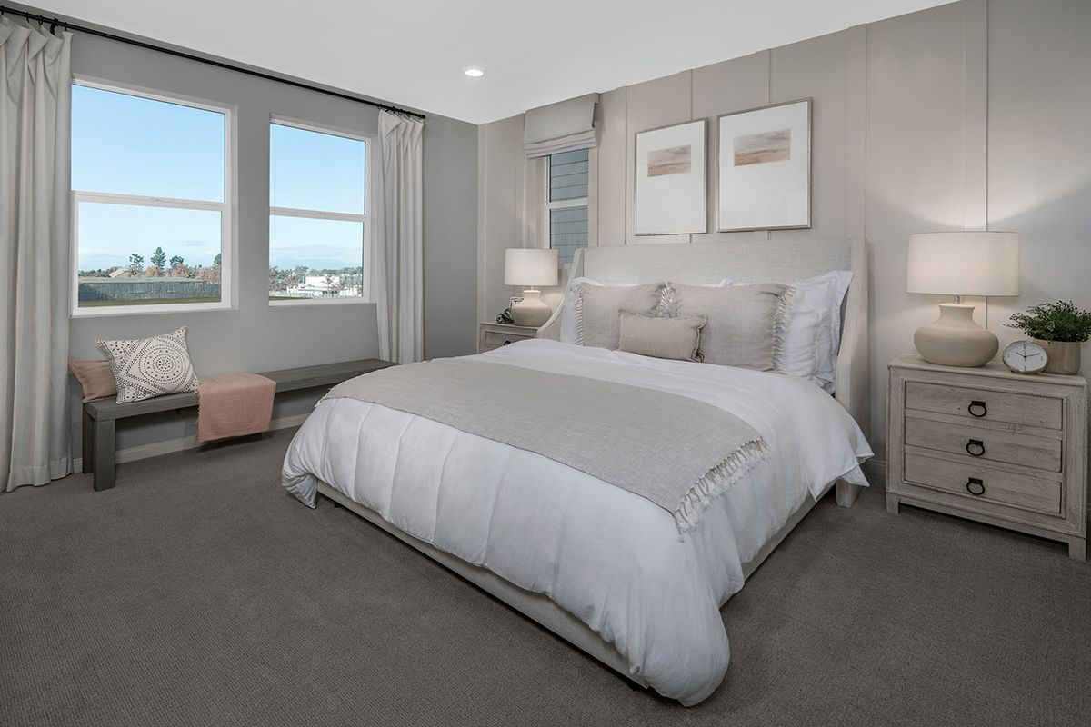 Bedroom featured in the Plan 2258 Modeled By KB Home in Los Angeles, CA