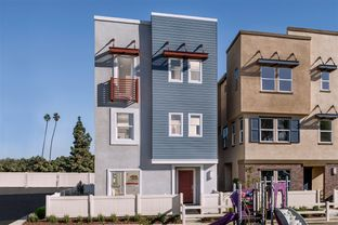 Plan 2355 Modeled - Axis at Grace Park: Inglewood, California - KB Home