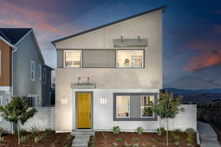 Plan 1412 Modeled - Clover at Valencia: Valencia, California - KB Home