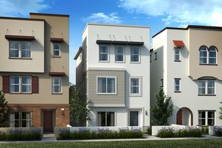 Plan 2021 Modeled - Axis at Grace Park: Inglewood, California - KB Home