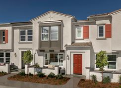 Residence Two Modeled - The Towns at El Paseo: Fontana, California - KB Home