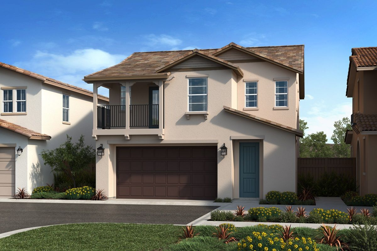 Exterior featured in the Plan 1741 Modeled By KB Home in Riverside-San Bernardino, CA