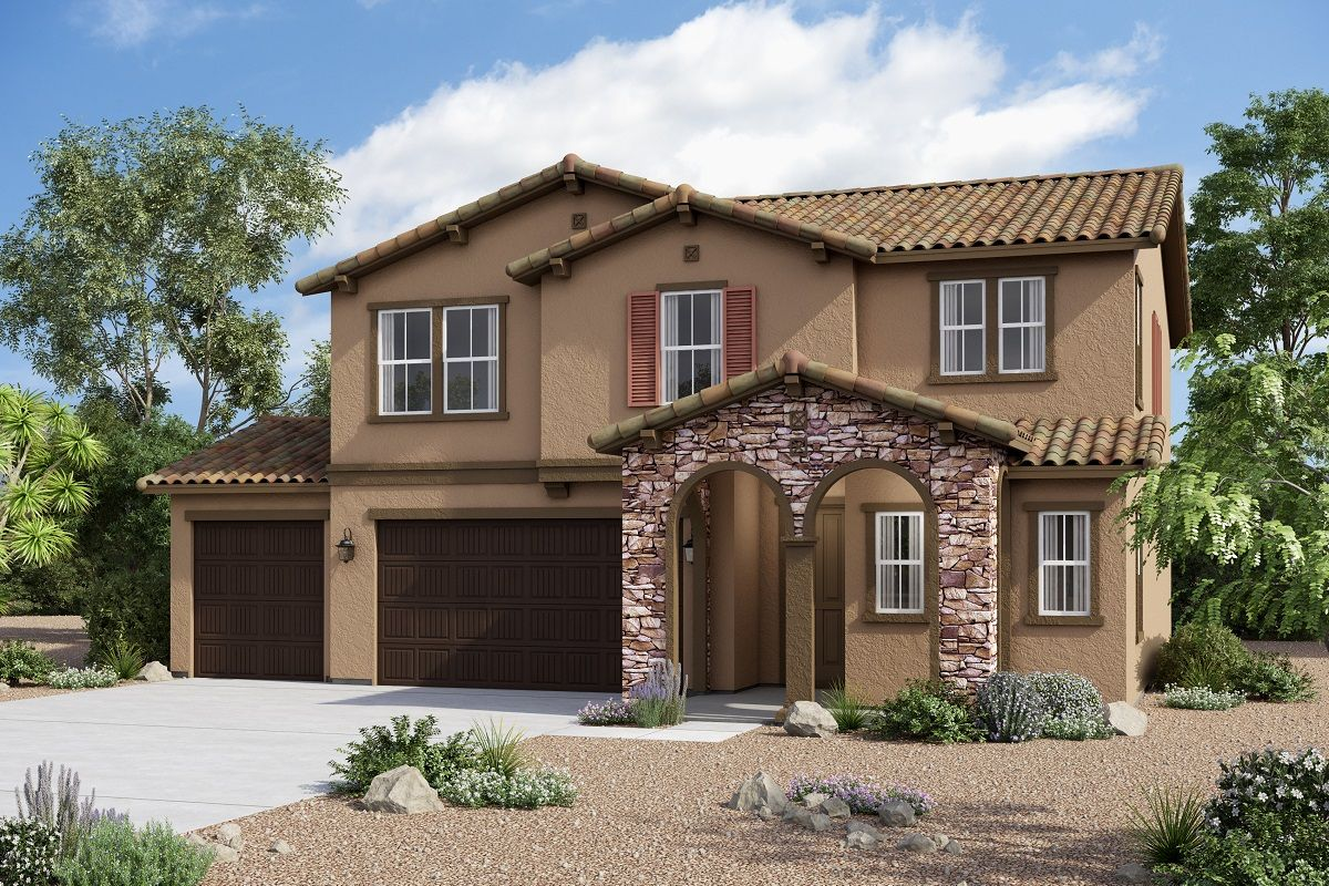 Exterior featured in the Residence 2227 Modeled By KB Home in Riverside-San Bernardino, CA
