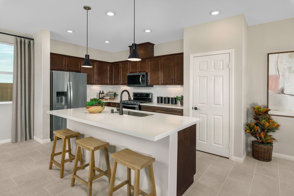 Kitchen featured in the Plan 1741 Modeled By KB Home in Riverside-San Bernardino, CA