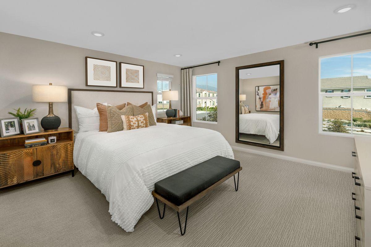 Bedroom featured in the Plan 1741 Modeled By KB Home in Riverside-San Bernardino, CA