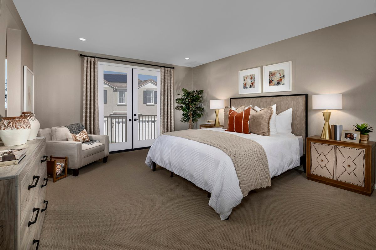 Bedroom featured in the Plan 1832 Modeled By KB Home in Riverside-San Bernardino, CA