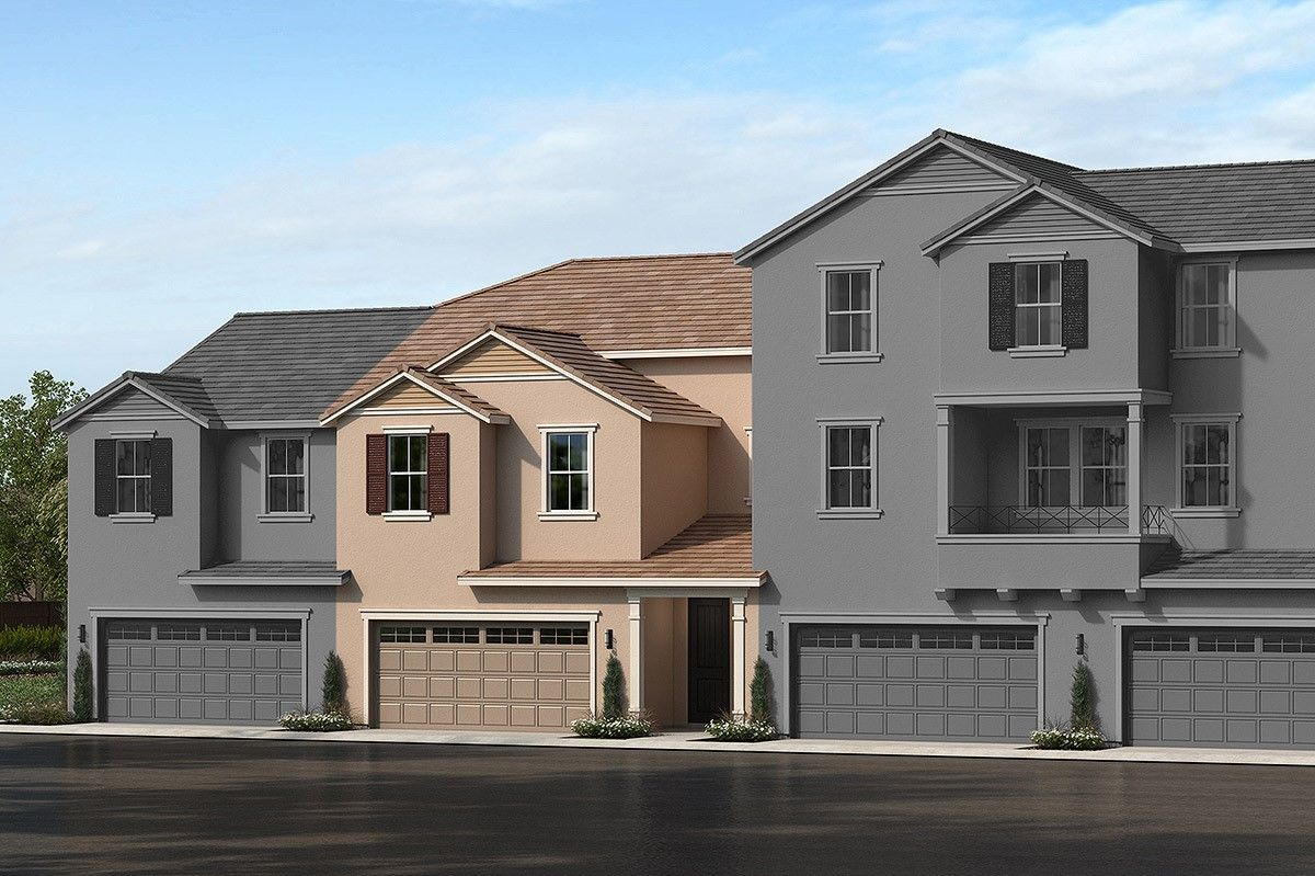 Exterior featured in the Plan 1832 Modeled By KB Home in Riverside-San Bernardino, CA