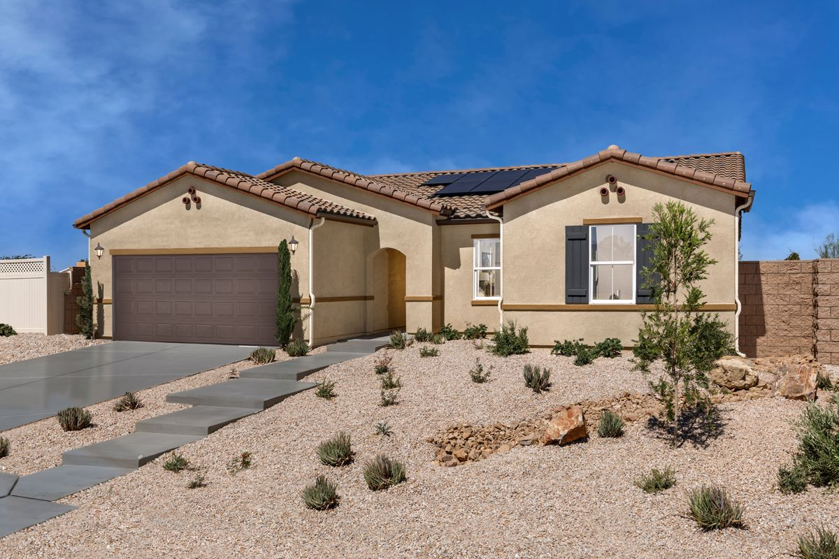 Exterior featured in the Plan 1779 Modeled By KB Home in Riverside-San Bernardino, CA