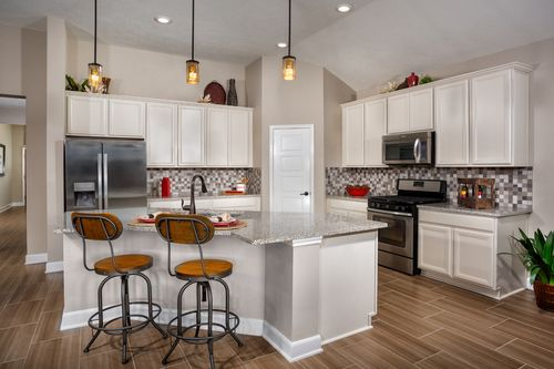 Kitchen-in-Plan 2314 Modeled-at-Rivergrove-in-Kingwood