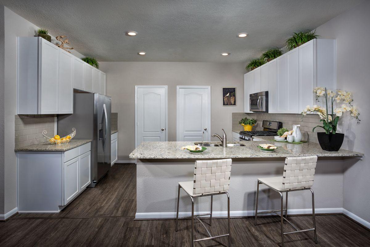 Kitchen-in-Plan 1930 Modeled-at-Cedar Brook-in-Houston