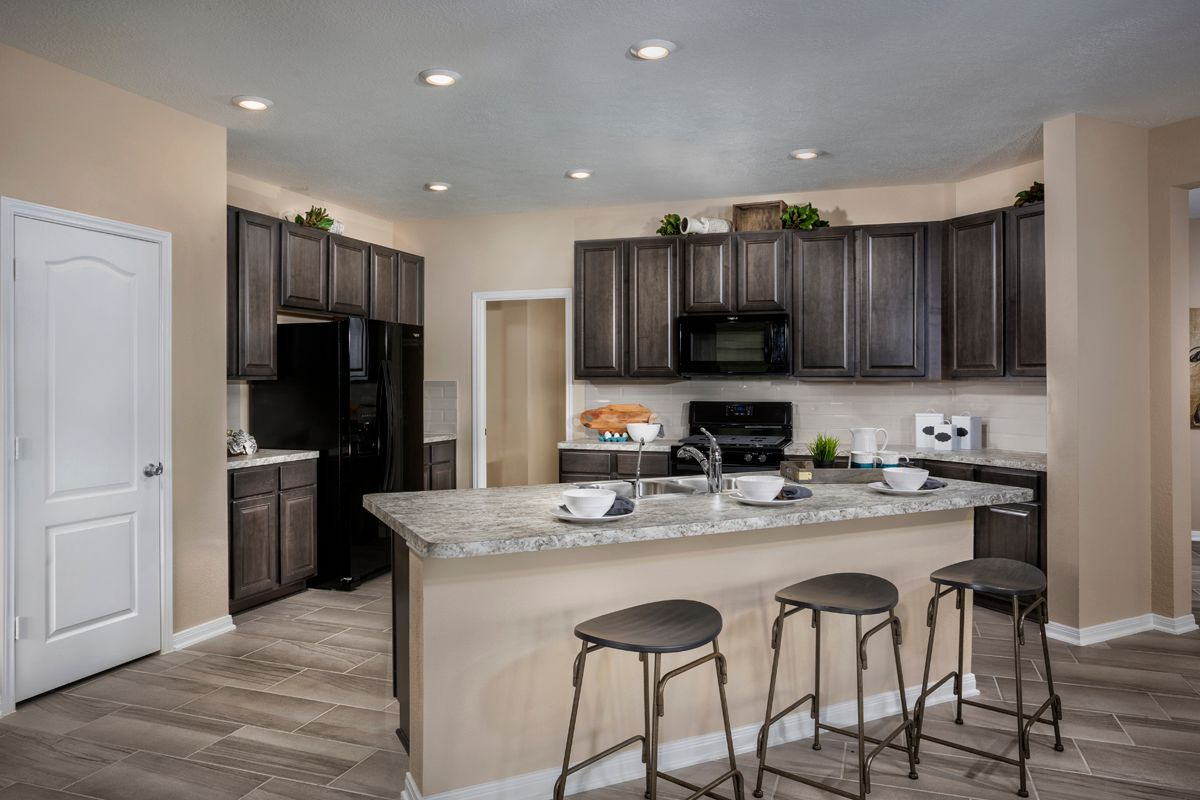 Kitchen-in-Plan 2526 Modeled-at-The Meadows at Westfield Village-in-Katy