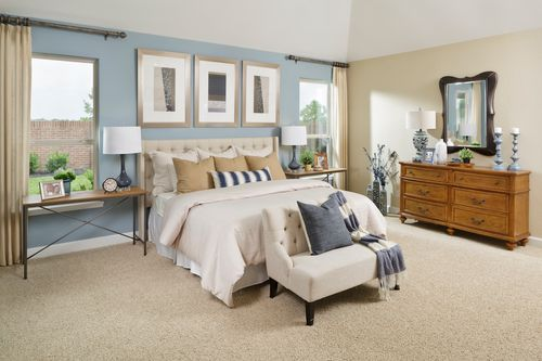 Bedroom-in-Plan 2130 Modeled-at-Shadow Grove Preserve-in-Pearland