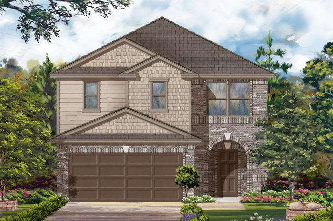 6822 Beck Canyon Dr (Plan 2124 Modeled)