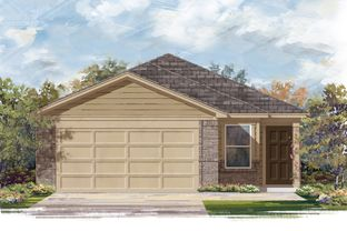 Plan 1454 - Brookwood Forest Springs: Porter, Texas - KB Home