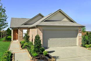 Plan 1585 Modeled - Katy Manor Trails: Katy, Texas - KB Home