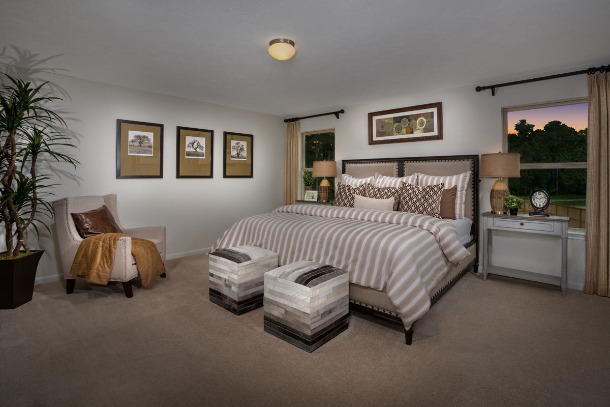 Bedroom featured in the Plan 2124 Modeled By KB Home in Houston, TX