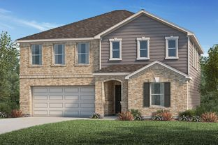 Plan 2478 - Bryan Crossing: Rosenberg, Texas - KB Home