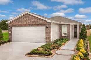 Plan 1360 Modeled - Timber Crossing: Houston, Texas - KB Home