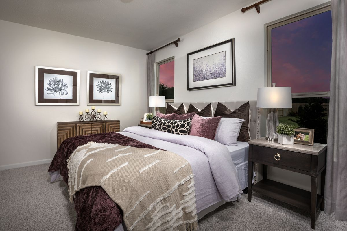 Bedroom featured in the Plan 1360 Modeled By KB Home in Houston, TX