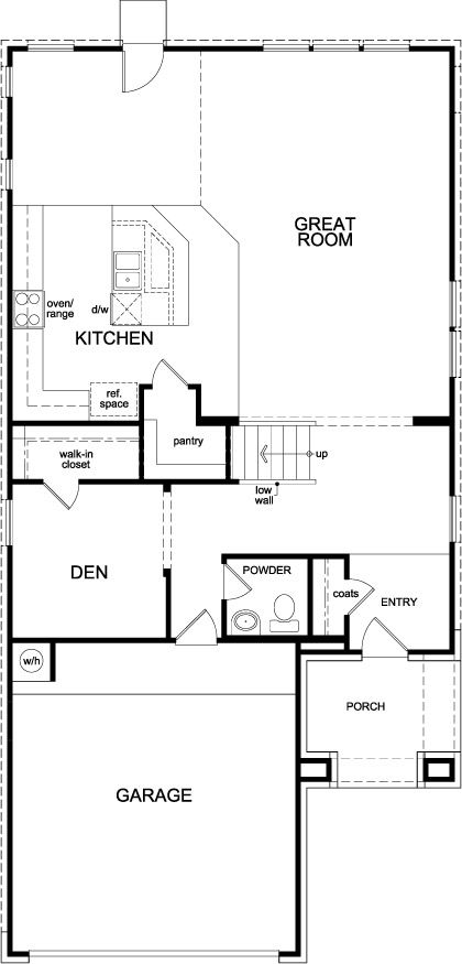 plan 2646 modeled by katy manor trails
